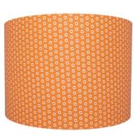 Orange marguerite lampshade