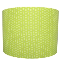 Lime green marguerite lampshade