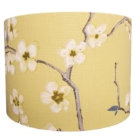Traditional floral lampshade