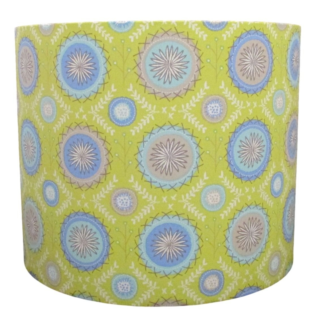 Stylised circles lampshade 25cm shade for lamp