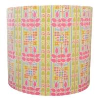 Liberty fabric Charles Rennie Mackintosh style lampshade