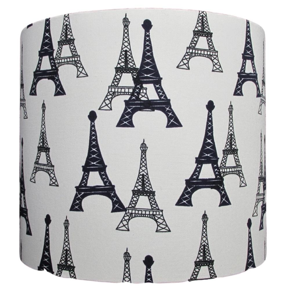 Eiffel Tower design 20cm diameter lampshade (for lamp) NOW £20