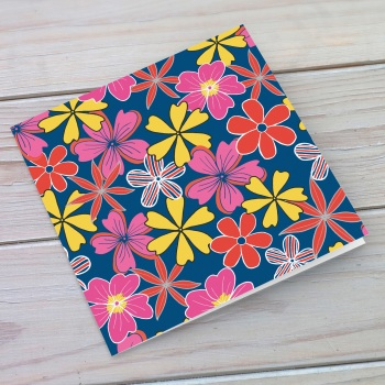 Flower Power Blank Greeting Card