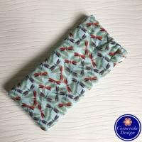 Large 'Dashing Dragonflies' Fabric Glasses Case