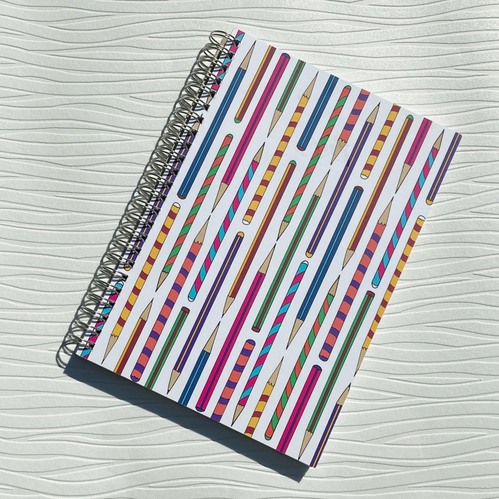 Plenty of Pencils A5 notebook