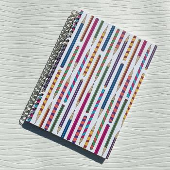 Plenty of Pencils A5 notebook