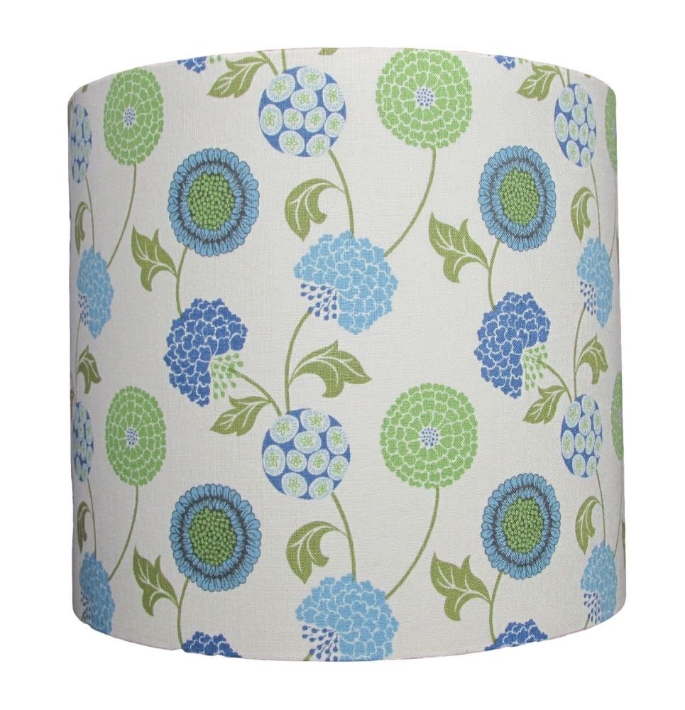 Stylised flower lampshade classic elegant design