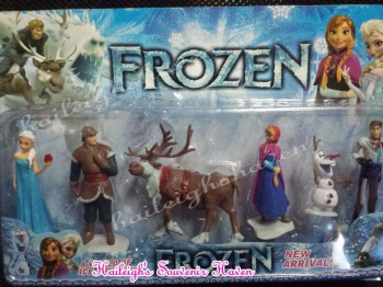 CAKE TOPPER TOY SET - DISNEY FROZEN SET #1