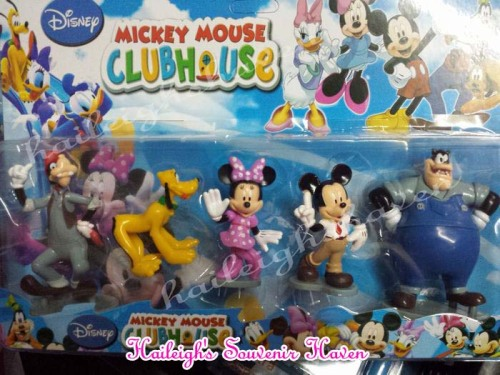 Mickey Mouse Clubhouse Cake Topper Toy Set (5-pc Set)