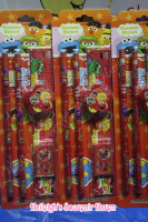PENCIL SET (12s): SESAME STREET
