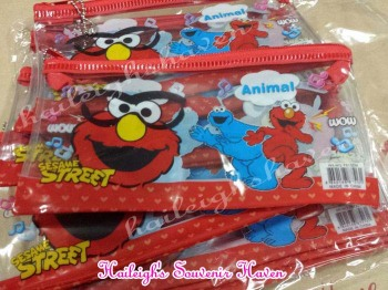 PENCIL CASE (12s, Regular): SESAME STREET