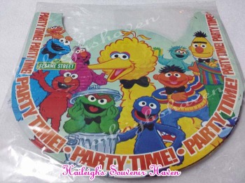PARTY HATS (Regular, 10s): SESAME STREET
