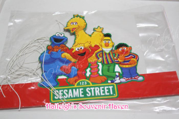 PARTY HATS (Die-Cut, 10s): SESAME STREET