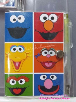 MINI-NOTEBOOK WITH PEN (SESAME STREET)