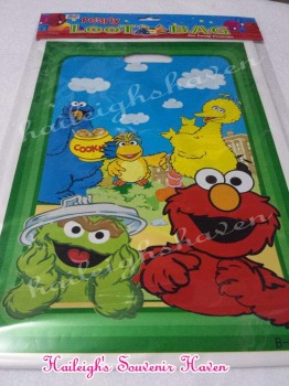 LOOT BAGS (SMALL): SESAME STREET