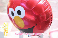 BALLOON (FOIL, 10s): SESAME STREET (Red)