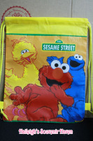 DRAWSTRING BAG (BIG, 12s): SESAME STREET