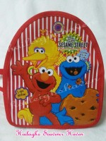 BACKPACK: SESAME STREET (RED, Small)