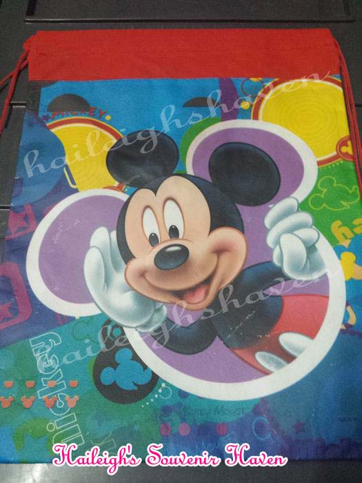 Mickey Mouse Drawstring Bag (Big)