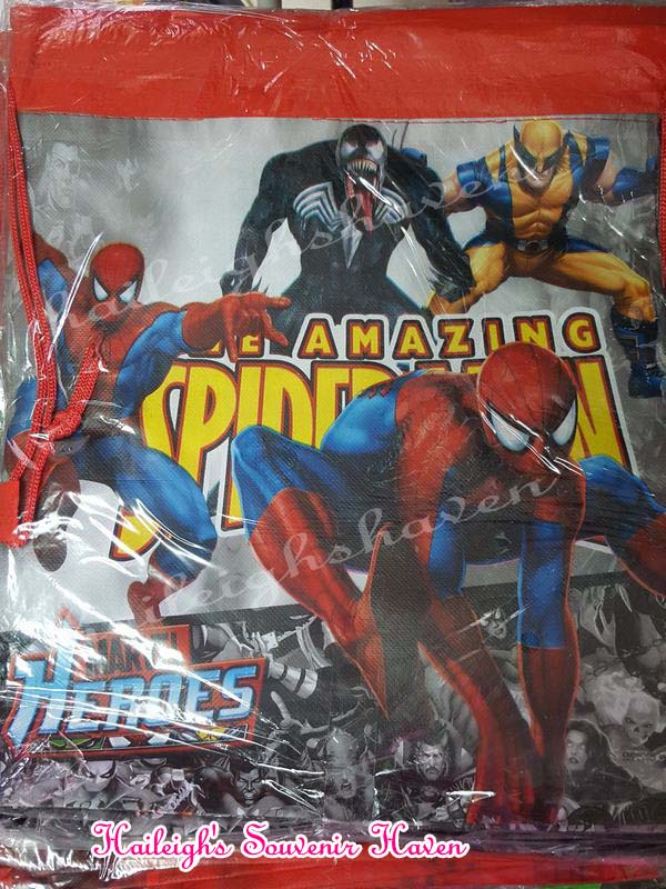Spiderman Drawstring Bag (Big)