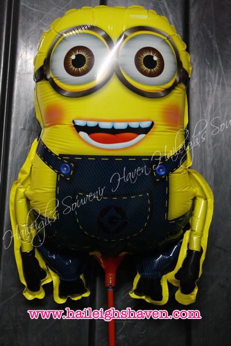 Minions Die-Cut / Shaped Balloon Pack