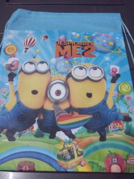 DRAWSTRING BAG (BIG, 12s): MINIONS