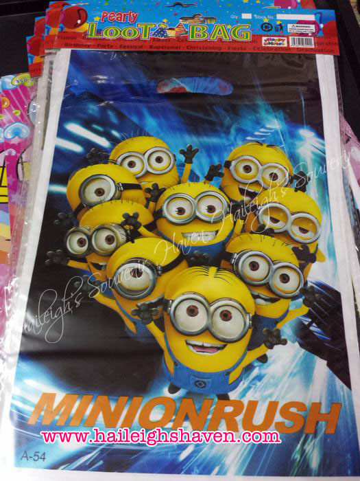 Minions Loot Bags (Small)