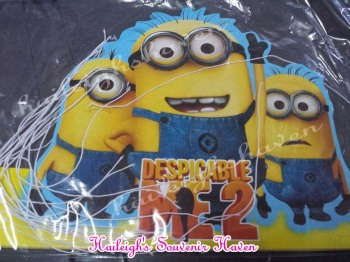 PARTY HATS (Die-Cut, 10s): MINIONS