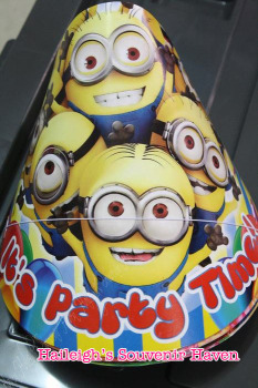 PARTY HATS (Regular, 10s): MINIONS