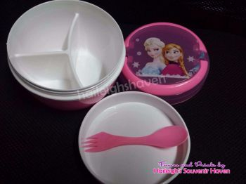LUNCH BOX (Round): DISNEY FROZEN