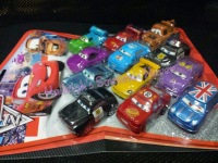 CAKE TOPPER TOY SET - DISNEY CARS (12s)