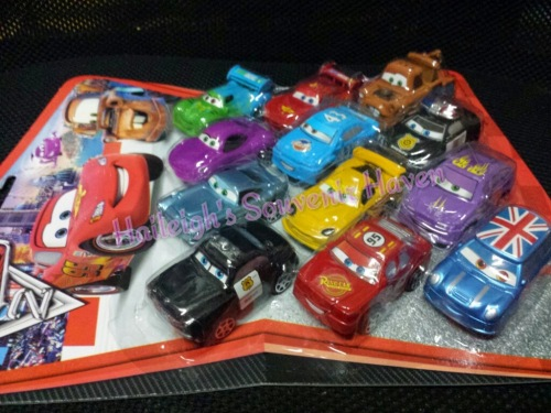 Disney Cars 12-pc Cake Topper Toy Set
