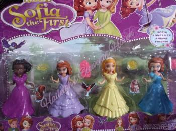 TOY SET: SOFIA THE FIRST MAGICLIP TOYS (4-PC SET)
