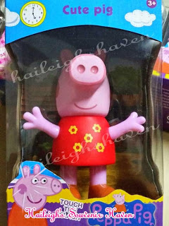 Peppa Pig 4-PC Family Toy Set (Individually Packaging)