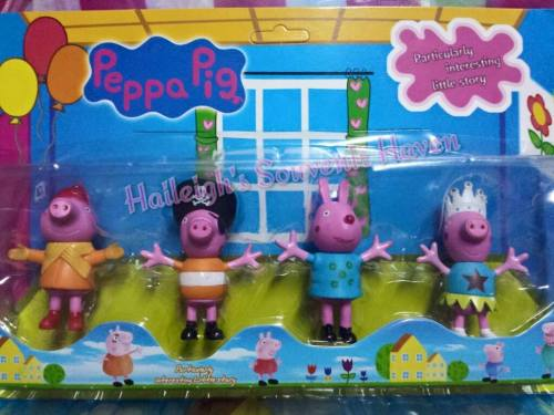 Peppa Pig (GEORGE PIG) 4-PC Toy Set