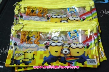 PENCIL CASE (12s, Regular): MINIONS