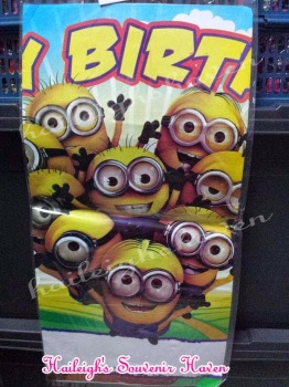 PARTY BANNER: MINIONS