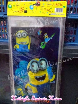 LOOT BAGS (LONG, NO HANDLE): MINIONS