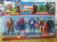 CAKE TOPPER TOY SET - AVENGERS