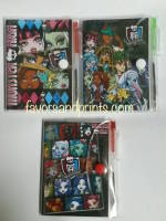 MINI-NOTEBOOK WITH PEN: MONSTER HIGH