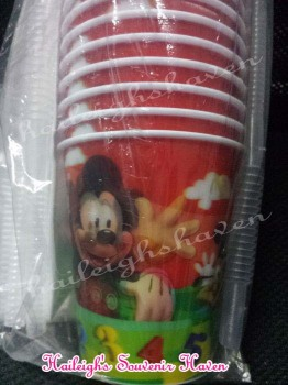 TUMBLER (HOLOGRAM): Mickey Mouse and Friends