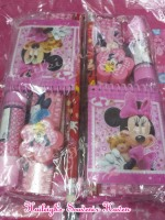 PENCIL SET (12s): MINNIE MOUSE