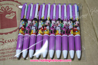 MULTICOLOR INK PEN (12s): MICKEY AND MINNIE