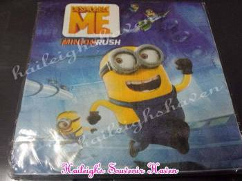 TABLE NAPKINS: MINIONS