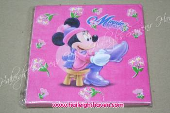 TABLE NAPKINS: MINNIE MOUSE