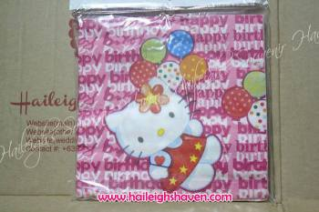 TABLE NAPKINS: HELLO KITTY