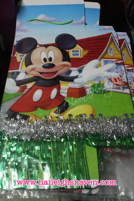 Mickey Mouse and Minnie Mouse Pinata (Foldable)