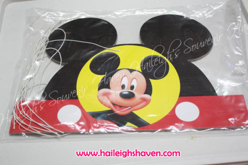 Mickey Mouse Party Hats (Die-Cut)