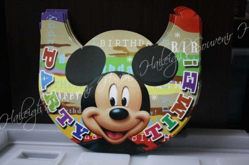 Mickey Mouse Party Hats (Regular)