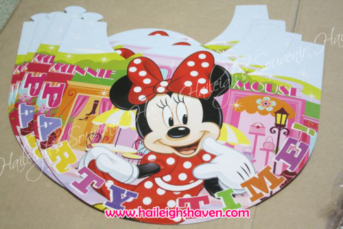 Minnie Mouse Party Hats (Regular)
